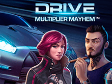 Игровой автомат Драйв: Безумие Множителей в мобильном казино