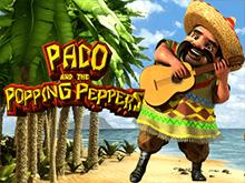 Играть на деньги в автомат Пако и Перчики с выгодой