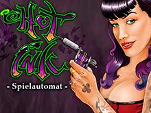 Hot Ink - азартная игра с увлекательными раундами и бесплатными вращениями за бонусные символы