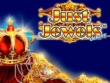 Just Jewels Deluxe от Novomatic – минимальные ставки для крупного выигрыша.