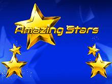 Игровой автомат Amazing Stars с прогрессивным джекпотом и множественными бонусами
