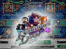 Играйте онлайн в автомате Diamond Dogs