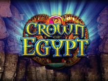 Реальные деньги в игровом автомате Crown Of Egypt