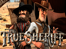 В автомат Настоящий Шериф играть бесплатно в мобильном казино