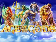 Популярная виртуальная азартная игра Age Of The Gods
